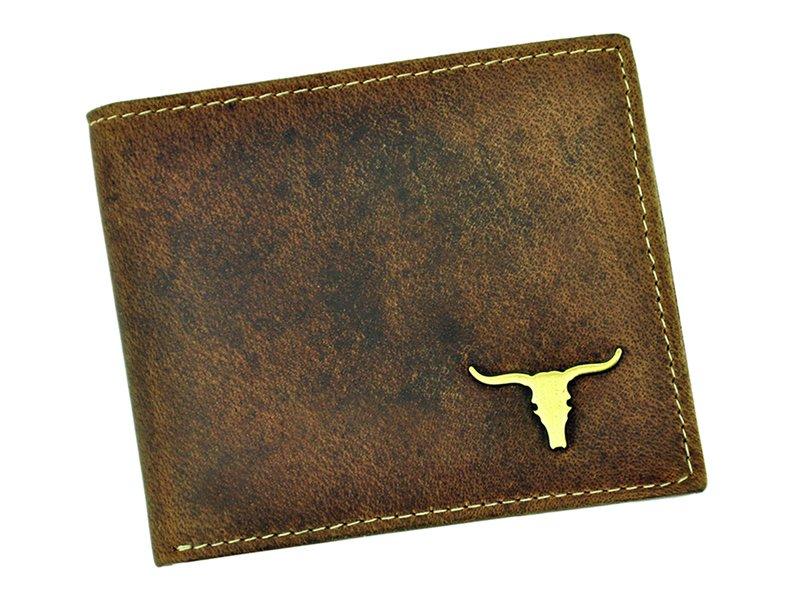 Wild Buffalo Man Leather Wallet Brown-RM-05-BAW BUFFALO